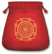 Protection Red Velvet Tarot Bag